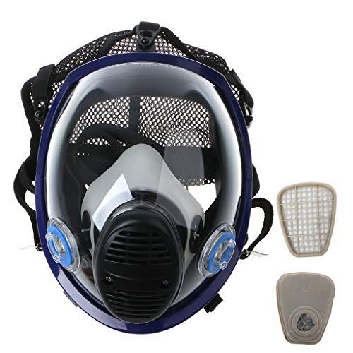Mascarilla de protección respiratoria Completa para barnizar Productos químicos de pesticidas
