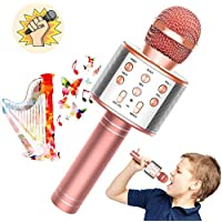 Toy'n 3 in 1 Wireless Portable Handheld Mic Karaoke Machine for Kids