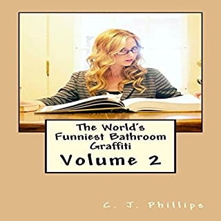 The World's Funniest Bathroom Graffiti audiobook cover art