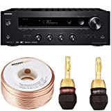 Onkyo TX-8140 Stereo Receiver with Built-In Wi-Fi and Bluetooth Wireless Technology, 2-Channel Network