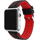Elespoto for Apple Watch Libération Rapide Souple en Caoutchouc de Silicone Bracelet...