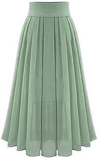 d767f04ce6c2 Rosatro Women Skirt, Women's Sexy Party Chiffion High Waist Lace-up Hip Long  Skirt