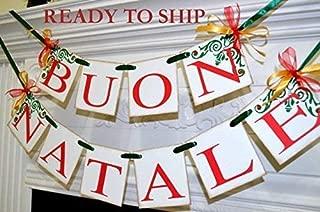 Buon Natale, Italian Buon Natale banners, Italian Christmas banners