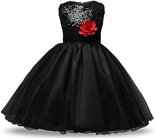 (チェリーレッド) CherryRed 子供 ドレス ワンピース フォーマル キッズ ベビー エレガント 結婚式 演奏会 ピアノ 発表会 女の子 ファション 100 110 120 130 140 150 160 10色展開