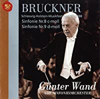 Bruckner: Symphonies No. 8 & No. 9 by Gunter Wand