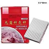 GOTOTOP Herramientas de acupuntura 100pcs/box, Dentro de 6 Productos de acupuntura Desechables...