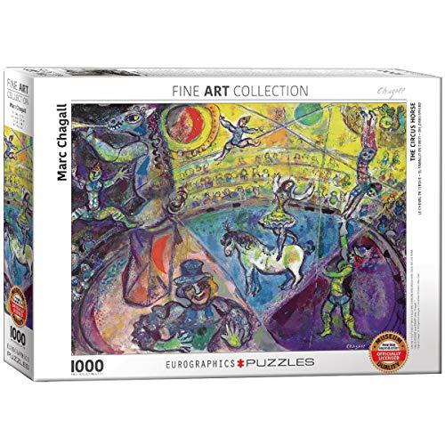 EuroGraphics 'Marc Chagall Le Cheval de Cirque Puzzle (1000 Piezas, Multi-Color)