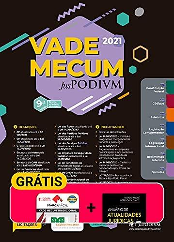 Vade Mecum Juspodivm 2021 - Único Atualizado Até 01/04/21 - 9ª Edição (2021)