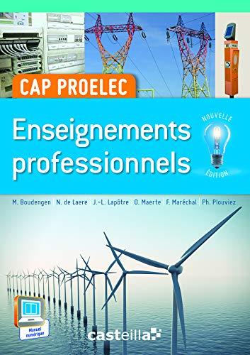 Enseignements professionnels CAP PROELEC (2015)