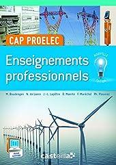Enseignements professionnels CAP PROELEC (2015) - Manuel élève (2015) de Michel Boudengen