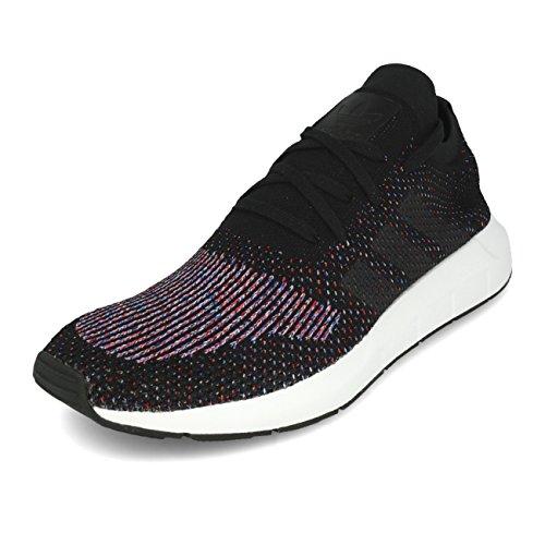Adidas Swift Run Primeknit Black Grey Five Medium Grey Heather, Black Grey Five Medium Grey, 43 EU