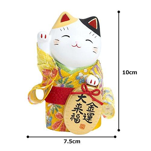 錦彩ちりめん小判招き猫(金運)AM-Y7415
