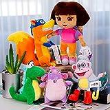 NamekPlanet Dora l'exploratrice Lot de 5 Peluches Babouche Chipeur Tico Vera - 16 à...