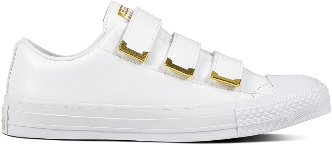 Converse Chuck Taylor CTAS 3v Ox Synthetic, Chaussures de Fitness Femme