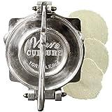 Verve Culture 8.5'' Tortilla Press/Homemade Tortilla Maker/Handmade Aluminum Tortilla Press
