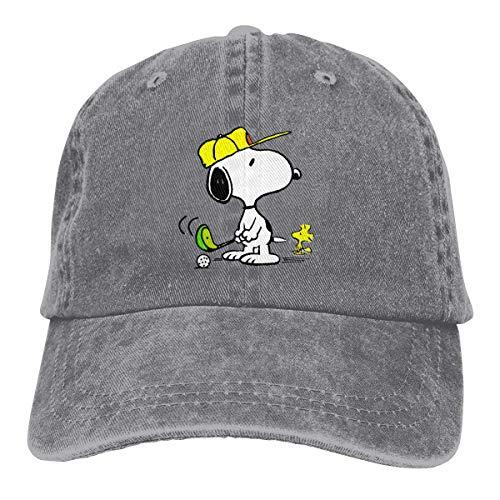 Snoopy Golf Leichte, schnell trocknende, atmungsaktive Baseballkappe Outdoor Run Cap Fashion Tide Cap Lässiger Sonnenhut Verstellbarer klassischer Sporthut