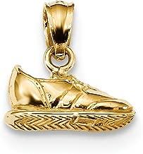 gold sneaker pendant