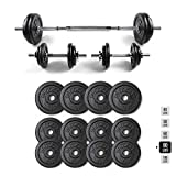 RitFit Adjustable Dumbbells Set, Fitness Free Weights 40, 50, 60, 80, 100 lbs with Connector Options for Men and Women Home Gym Workout Bodybuilding Training (80)