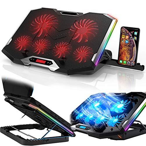 DSMGLRBGZ Soporte Monitor, Laptop Stand Soporte Laptop Elevador Portátil USB Doble Bisel Oculto Antideslizante Seis Núcleos Disipación De Calor Silencio para Postura Saludable Game,A