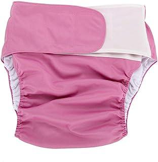 1PC Pañales Adultos - Tejido ajustable lavable, Adhesivo mágico Adhesivo Pañal de Papel, Para Cuidado de incontinencia, Pañales Reutilizables - (306)