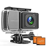 DBPOWER EX7000 PRO 4K Action Camera 2.45' LCD Touchscreen Underwater Camera with 16MP Image Sensor Waterproof...