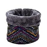 chenyou Cálido Invierno de los niños de la Bufanda Hombres Mujeres Niños Cuello de Punto Pañuelos (Color : B)