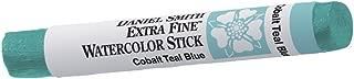 DANIEL SMITH Extra Fine Watercolor Stick 12ml Paint Tube, Cobalt Teal Blue