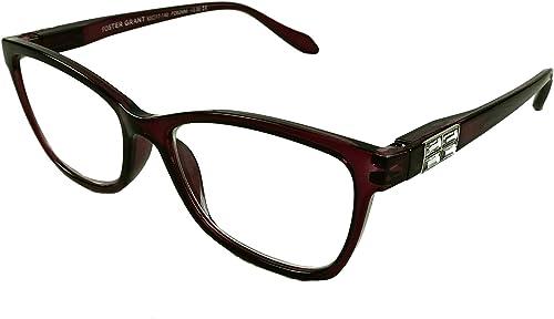 popular Foster wholesale Grant VRL2004 PRP Purple Reading Glasses wholesale +2.50 w/Case online sale