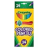 Crayola Colored Pencils, Coloring Supplies, 24 Count
