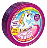 CRAZE CRAZE-58917 Magic Dough Inteligente Masa Unicornio 80g de estaño Gluten de BPA Libre del Brillo 58917, Multicolor