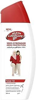 Lifebuoy Anti Bacterial Body Wash Total 10, 300ml