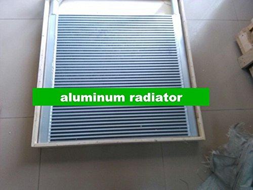 GOWE aluminio enfriador de aceite hidráulico para Sumitomo SH135aluminio enfriador de...