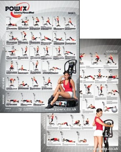 Complete Whole Body Vibration Training Charts, 60 Exercises Plus 3 Month Personal Vibration Training Programme Tailored for You Vibration Training for Strength, Tone, Stretch and Massage.
