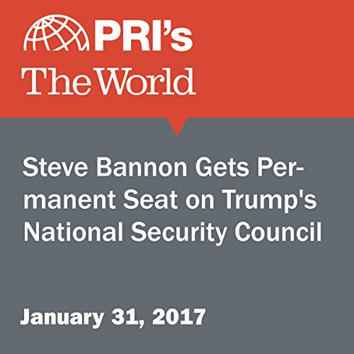 Steve Bannon Gets Permanent Seat on Trump's National Security Council audiobook cover art