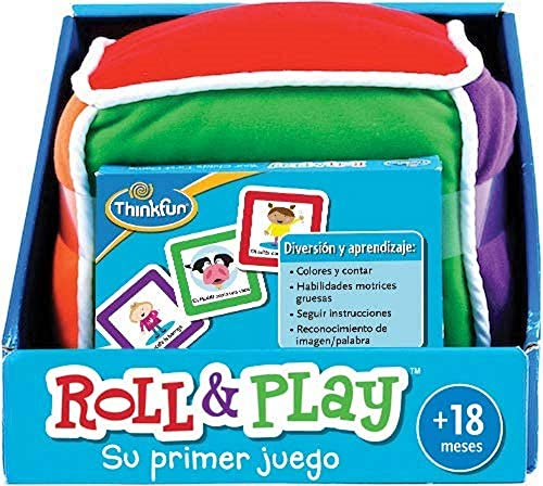 ThinkFun Roll & Play, Juego educativo para bebes, Edad recomendada a partir...