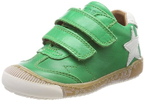 Bisgaard Unisex-Kinder Klettschuhe Sneaker, Grün (Green), 30 EU