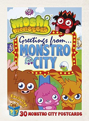 Moshi Monsters Postcard Book