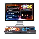 ARCADORA 3A Consola Arcade casera Pandora Box DX de 8 Botones 3000 en 1, 4 Jugadores, Agregar Juegos, Guardar el Progreso de los Juegos, Búsqueda precisa de Juegos, Máquina de Video clásica HD 720P