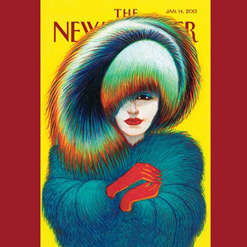 The New Yorker, January 14th 2013 (Peter Hessler, Rachel Aviv, Jeffrey Toobin) cover art