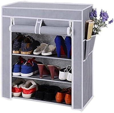 Biaba Collection 4 Layer Multipurpose Portable Folding Shoe Rack