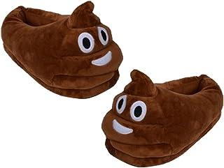 d05e8f13c10e2 Générique Pantoufles Chaussons Chaussures Emoji Peluche Homme Femme Enfant  Adulte
