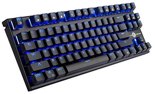 Circle Gaming Squadron-M Metallic Black Mechanical Gaming...