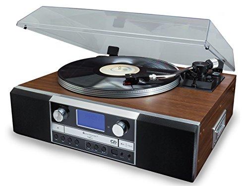 Soundmaster PL905 Nostalgie Musikcenter Plattenspieler Encoding CD-Brenner USB Kopfhöhreranschluss