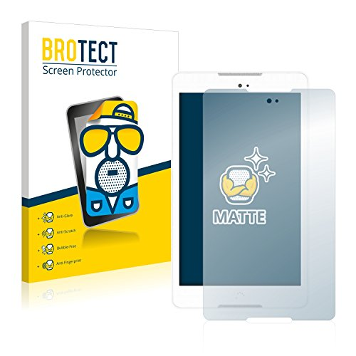 BROTECT 2X Entspiegelungs-Schutzfolie kompatibel mit BQ Aquaris M8 Bildschirmschutz-Folie Matt, Anti-Reflex, Anti-Fingerprint