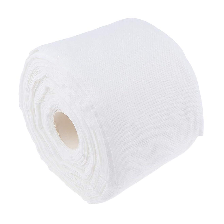 無視単に危険にさらされているF Fityle メイクコットンパッド 使い捨て 柔らか コットン タオル クリーニング 拭き取り ティッシュロール