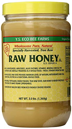 Y.S. Eco Bee Farms, Raw Honey, 3.0 lbs  Pack of 2 -  YS Eco Bee Farms, YSO012113