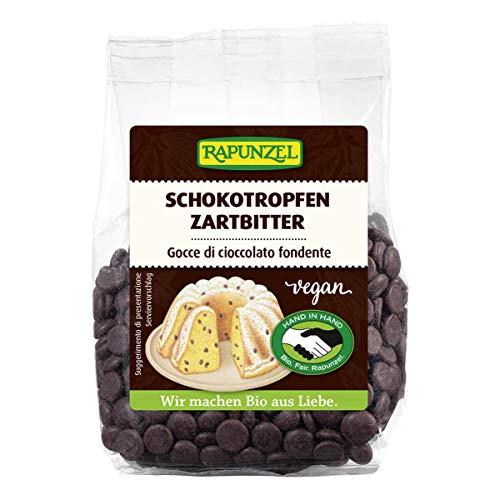 Rapunzel - Schokotropfen Zartbitter HIH - 100 g - 8er Pack