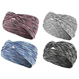 ZER Sweat-Absorbent Sports Hair Band For Sporting Running Fitness Hair,4
