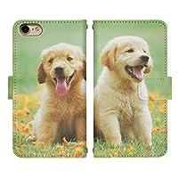 iPhone 11 ベルトあり 手帳型 スマホケース スマホカバー di776(D) 犬 イヌ いぬ 動物 アニマル アイフォン11 アイフォンイレブン スマートフォン スマートホン 携帯 ケース アイホン11 アイホンイレブン 手帳 ダイアリー フリップ スマフォ カバー