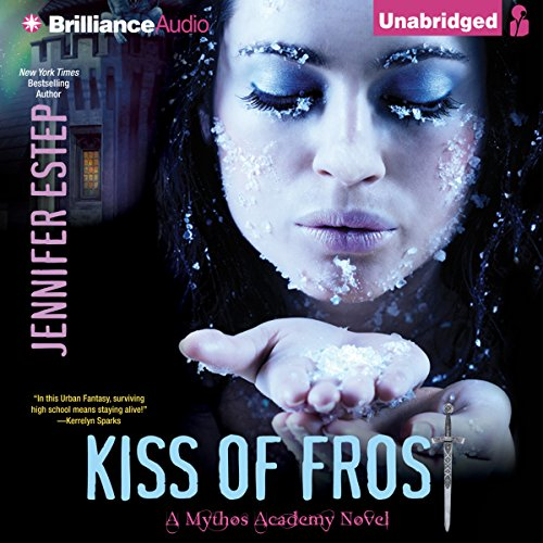 Kiss of Frost audiobook cover art